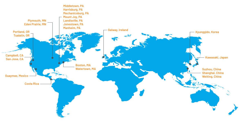 MicroGroup locations